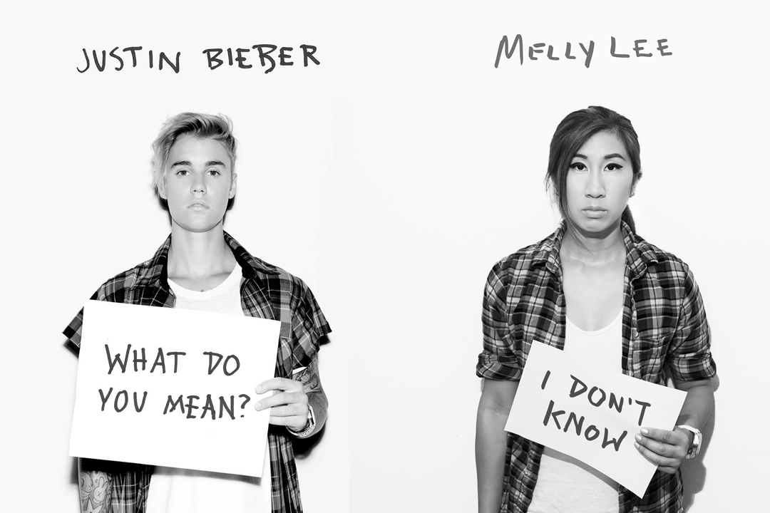 Justin Beiber's What Do You Mean Photo Tutorial