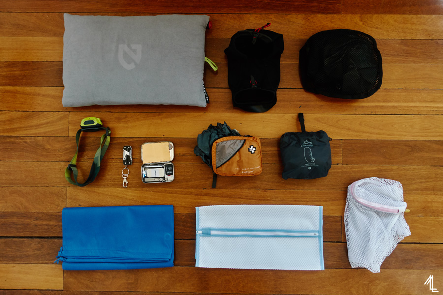 packing list, southeast asia
