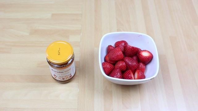 miel et fruits