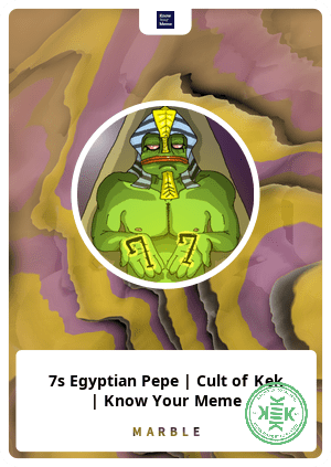 7s egyptian pepe