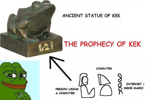 prophecy of kek
