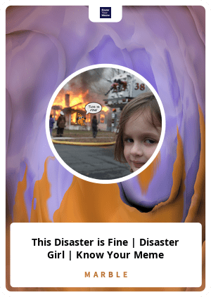 this disaster is fine
