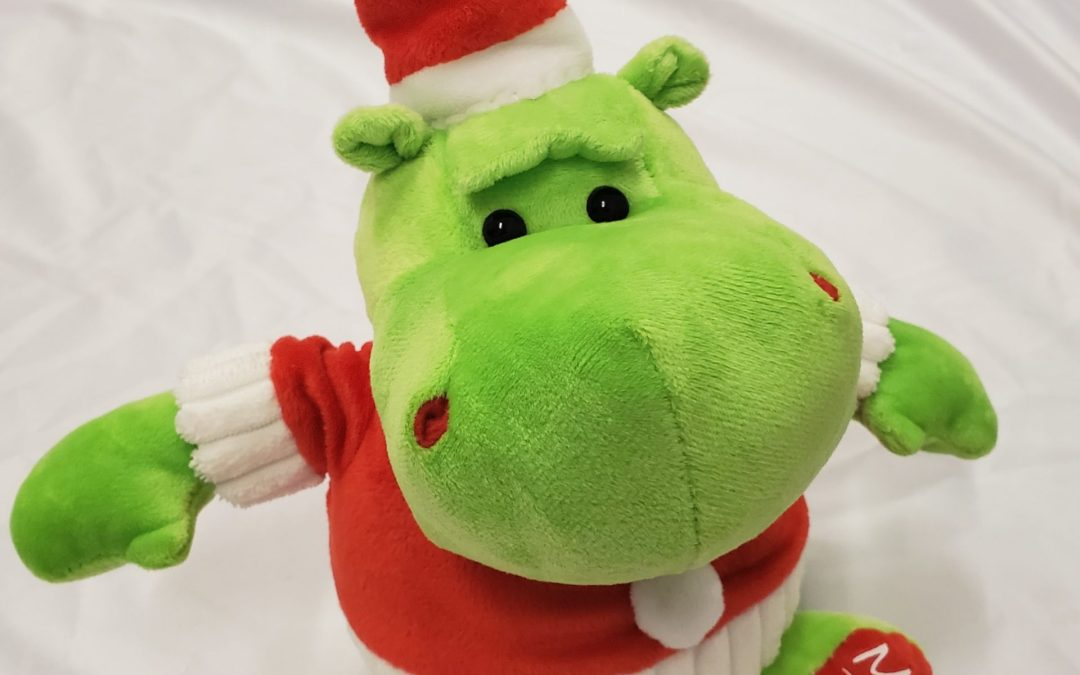The Grincho-Potamus is in stock for the holidays!