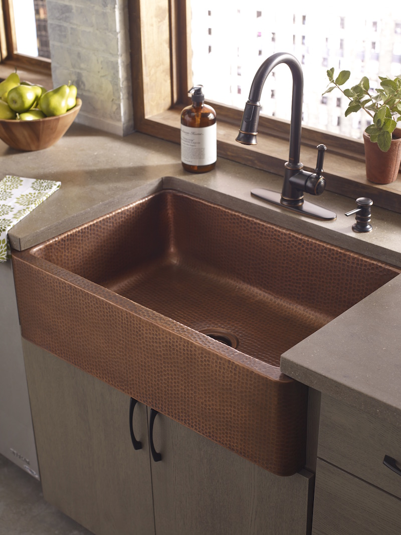 material for your new kitchen sink