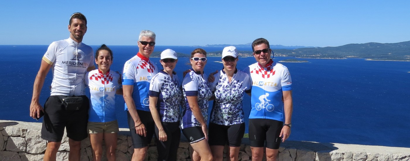 Dalmatian coast classic bike tour