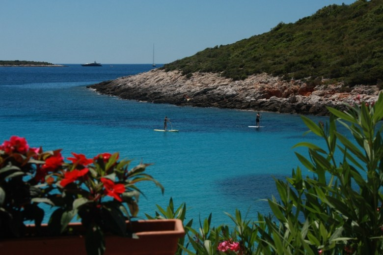 Milna bay on Island Vis