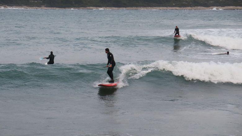 Sometimes it happens in Croatia as well - waves...