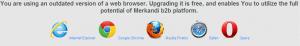 upgrade the browser to view Merkandi
