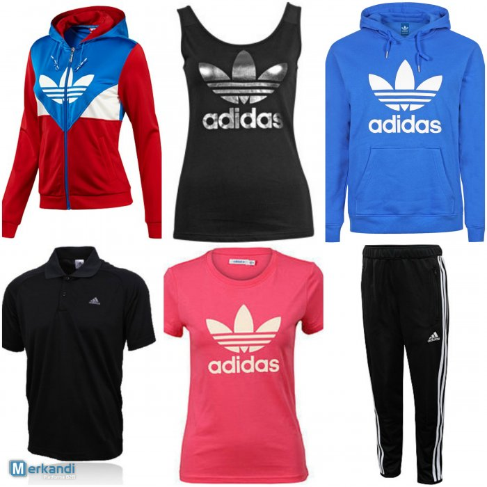 Adidas sportsu0026#39; clothes wholesale lot - Official blog of Merkandi wholesale trading platform