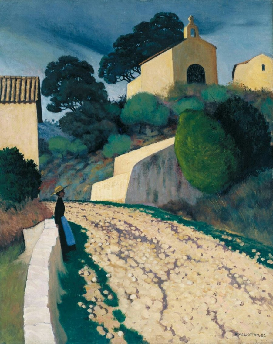 Félix Vallotton, 1922 - Route à Saint-Paul