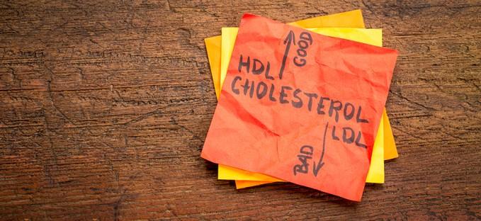 High Cholesterol Sticky Note