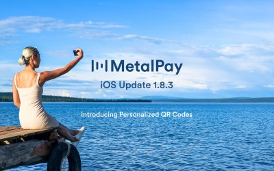 📣 Metal Pay iOS Update 1.8.3 – Personalized QR Codes