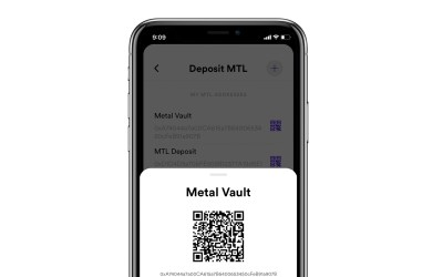 How do I deposit crypto to Metal Pay?