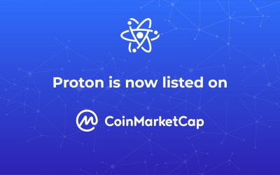 Proton is now on Coinmarketcap!