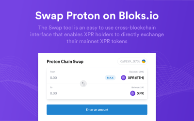 Proton Swapping Tool is Live  – Unlocking Staking and More!