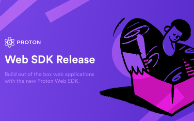 Announcing the release of the Proton Web SDK with documentation