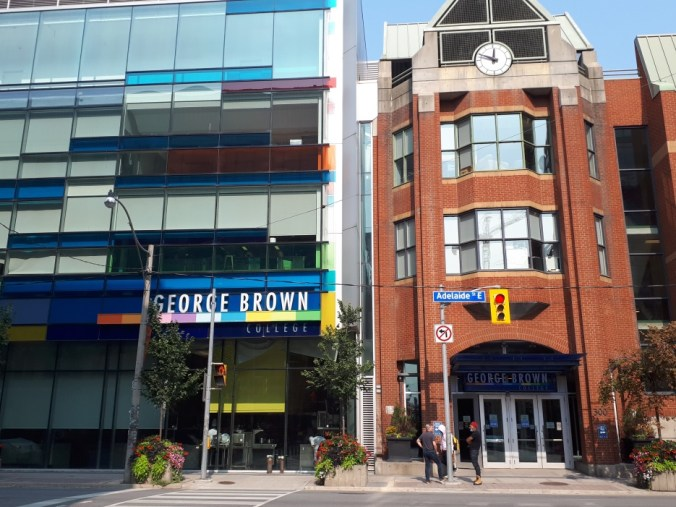Image shows George Brown college.
