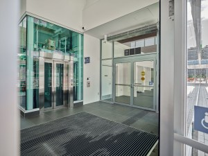 Image shows the elevator.