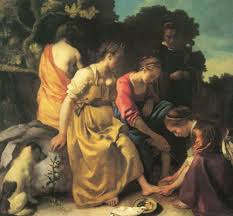IMMAGINE 3 Diana e le sue ninfe Vermeer
