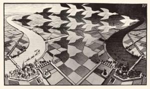Escher paesaggio