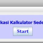 Aplikasi Kalkulator Sederhana dengan Java Netbeans