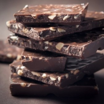 Delicias de chocolate y crema de cacahuete
