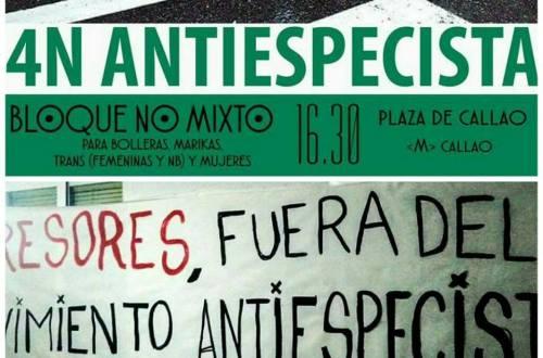 4N antiespecista