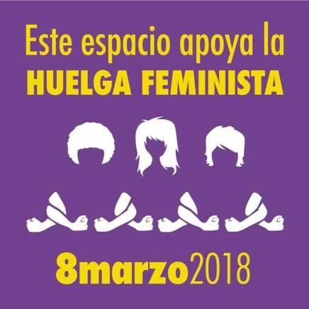 todas a la huelga feminista del 8M