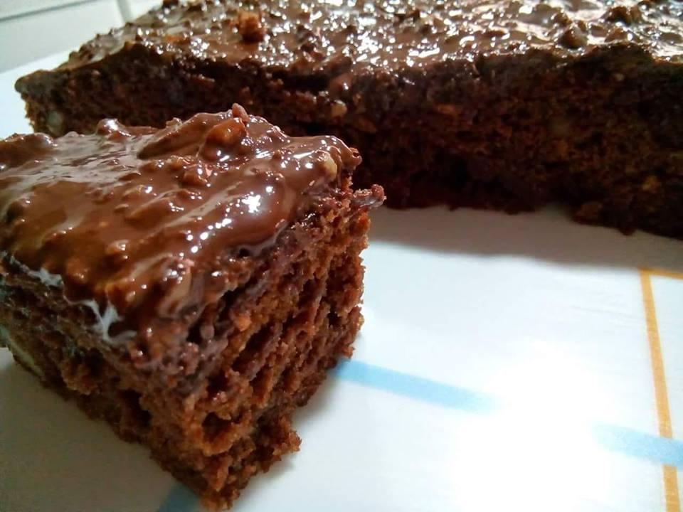 veganizamos la receta de brownie