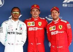 Leclerc startet vor Hamilton beim Großen Preis von Russland