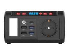 revolt Mini-Solar-Konverter & Powerbank HSG-240