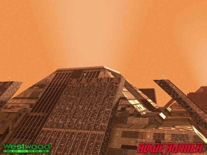 Blade Runner Wallpaper - Tyrell Pyramids