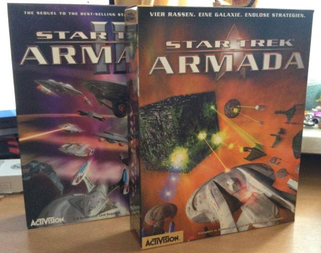 Star Trek: Armada & Armada II (Boxen)