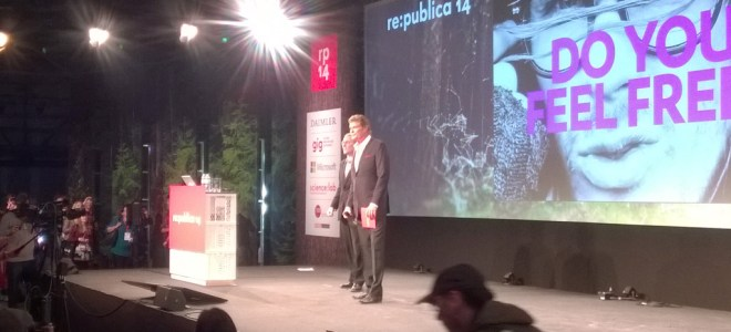 re:publica 14 - The Hoff
