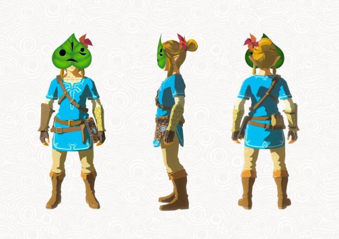 Zelda - Breath of the Wild - Krog-Maske