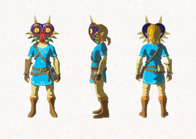 Zelda - The Breath of the Wild - DLC - Majoras Maske