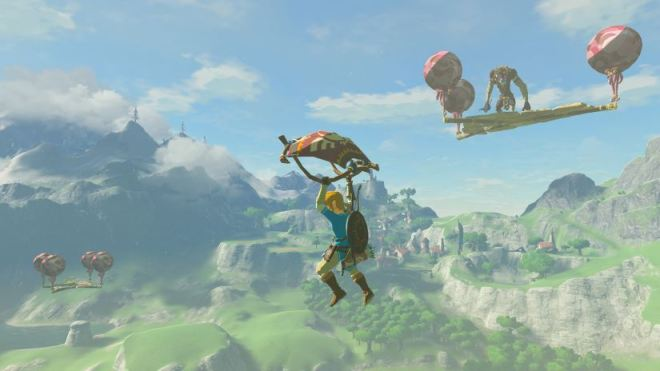 Zelda - Breath of the Wild - Schwerer Modus - Ballonplattformen