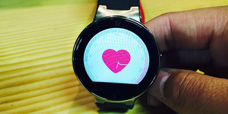 Alcatel Watch - aplikace měření srdečního tepu