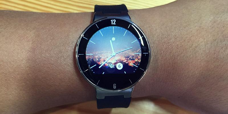 Alcatel Watch - nosí se velmi pohodlně