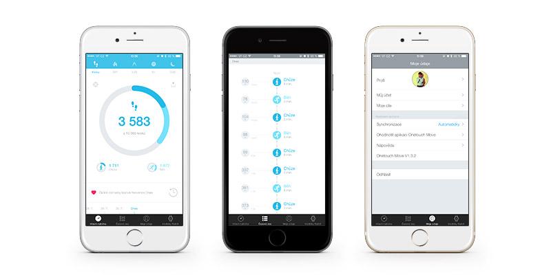 Alcatel Watch - mobilní aplikace Alcatel Move