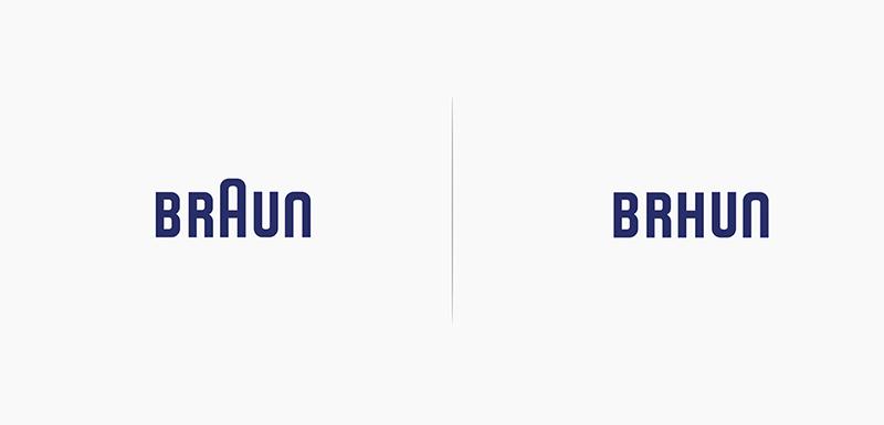 Loga podle svých produktů - Braun
