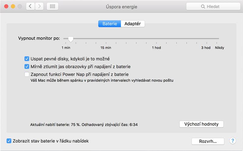 MacBook Pro Retina - Někdy se mi zdá, že mi MacBook lže a vydrží déle, než píše