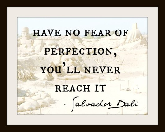 quote about perfection