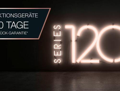 7b9d60affbc60a 120 Tage Geld-zurück-Garantie auf ausgewählte Miele Sondermodelle . Miele  feiert 120 Jahre Firmenjubilem!