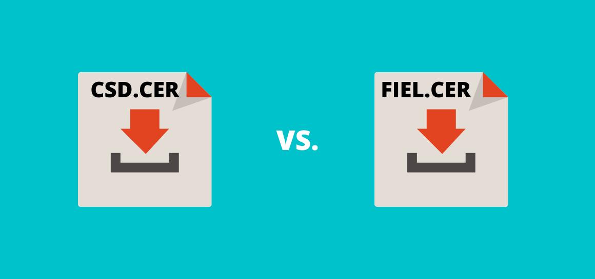 Un CSD no puede usarse para firmar documentos. Conoce sus diferencias con la FIEL o e.firma.