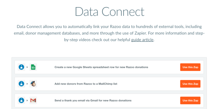 Automatic Data Integration
