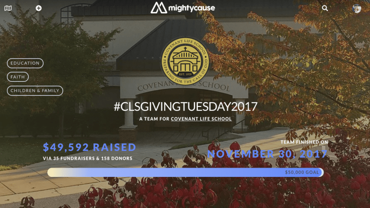 #GivingTuesday School Fundraising