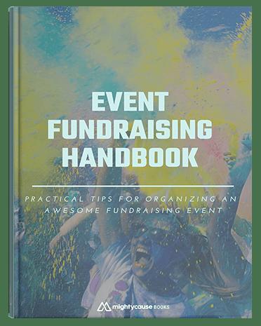 cover of event fundraising handbook
