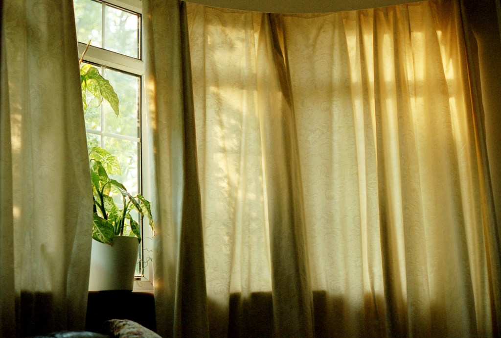 My hometown bedroom where I used to blog years ago.