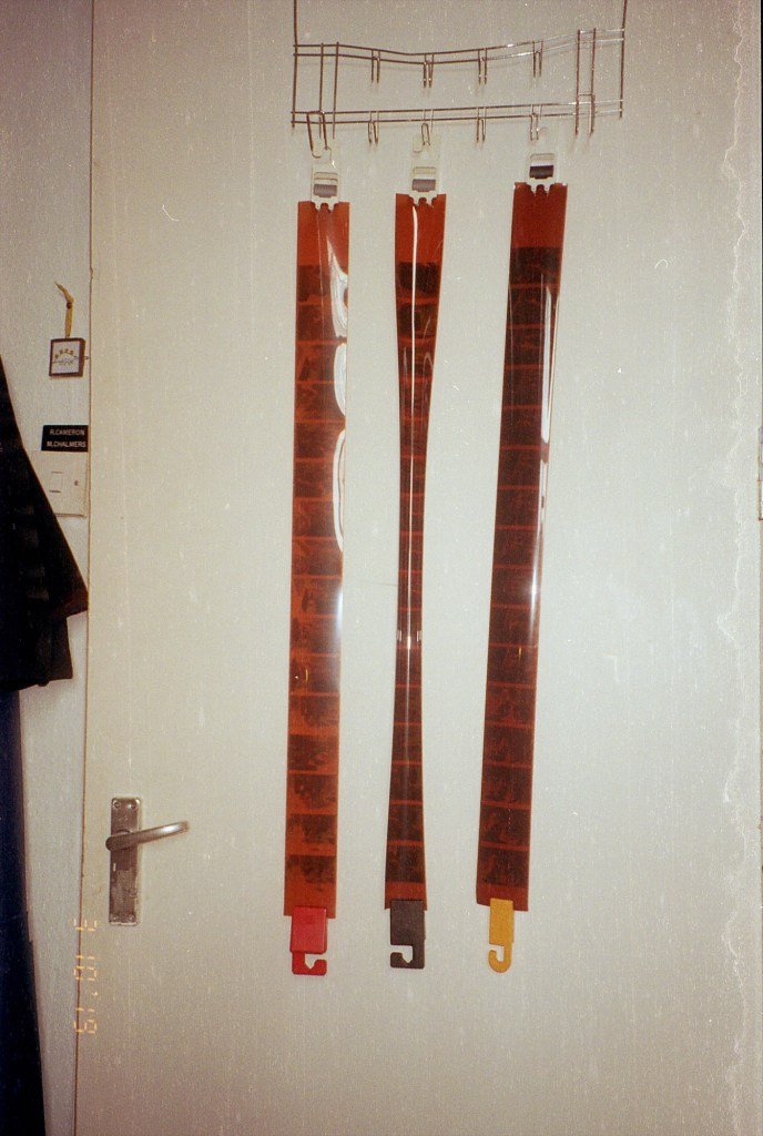 developing colour C-41 film at home - the hanging proof!